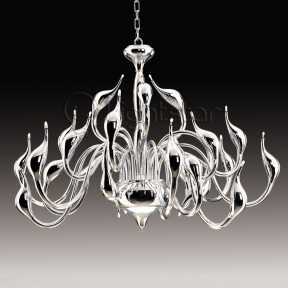 Люстра Lightstar 751244 Cigno collo chrome