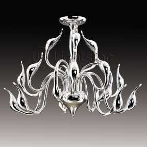 Люстра Lightstar 751184 Cigno collo chrome